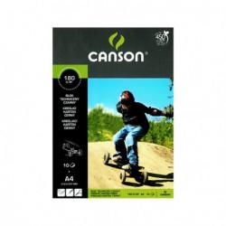Blok Canson techniczny czarny A4