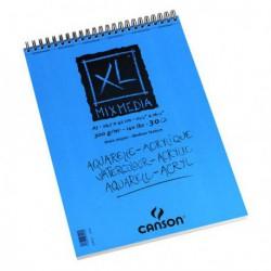 Blok Canson XL Mix Media na spirali 300g.A3