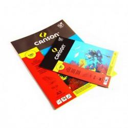 Blok Canson techniczny kolorowy 180g. A4
