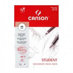 Blok Canson STUDENT szkicowy 90g.A4