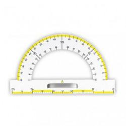 Magnetyczny kątomierz tablicowy Leniar 180 stopni