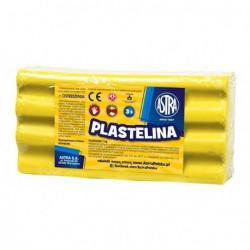 Astra plastelina 1kg. cytrynowa 28331