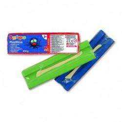 Plastelina PRIMO 550gram POMARAŃCZOWA + nożyk