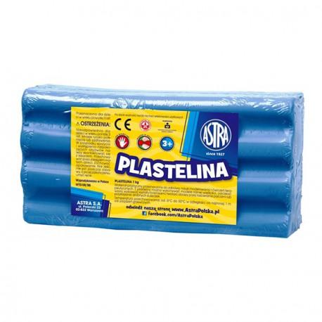Astra plastelina 1kg. niebieska 29081