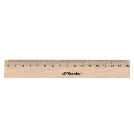 Linijka drewniana Leniar 16cm
