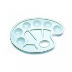 Paleta malarska plastikowa owalna 16,5x23,5cm