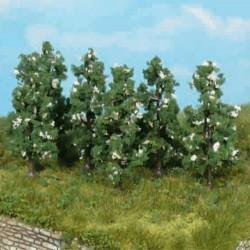 Model drzewa GRUSZA KWIATY 6szt.6cm HEKI 1172