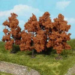 Model drzewa OWOCOWE JESIEŃ 4szt.8cm HEKI 1169