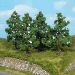 Model drzewa OWOCOWE KWIATY 4szt.8cm HEKI 1170