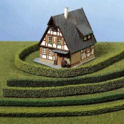Model żywopłotu elastyczny jasna zieleń HEKI 1184