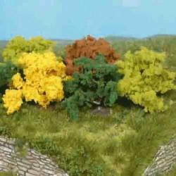 Modele krzewów 8szt.4cm HEKI 1181