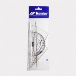Zestaw geometryczny Leniar 16cm