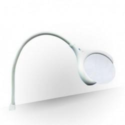 Lampa Daylight LED z lupą stołowa z klipsem