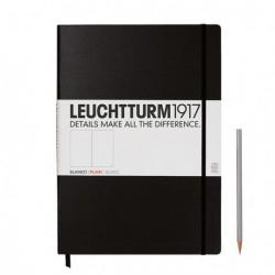 Notatnik LEUCHTTURM1917 A4 233st. czarny gładki