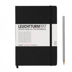 Notatnik LEUCHTTURM1917 A5 249s.czarny kratka
