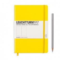 Notatnik LEUCHTTURM1917 A5 249st.cytrynowy gładki