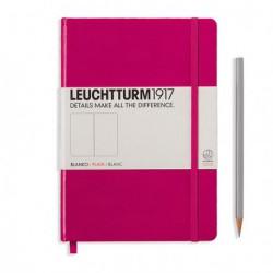 Notatnik LEUCHTTURM1917 A5 249st.malinowy gładki