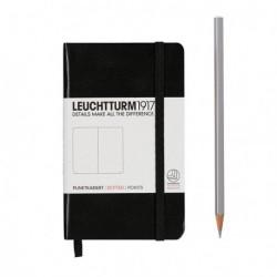 Notatnik LEUCHTTURM1917 A6 185st. czarny kropki