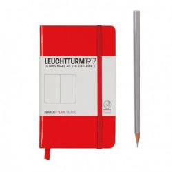 Notatnik LEUCHTTURM1917 A6 185st. czerwony gładki
