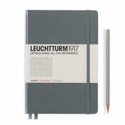 Notatnik LEUCHTTURM1917 A5 249st.szary kratka