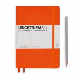 Notatnik LEUCHTTURM1917 A5 249st.pomarańcz kropka