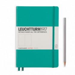 Notatnik LEUCHTTURM1917 A5 249st.szmaragd kropka