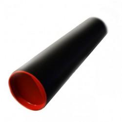 Tuba kartonowa czarna Leniar śr.8cm dł.60cm