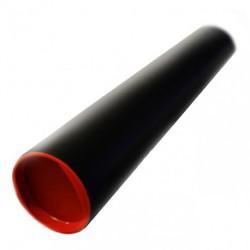 Tuba kartonowa czarna Leniar śr.8cm dł.80cm