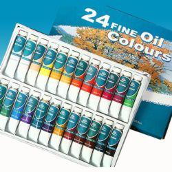 Farby olejne PHOENIX 12ml kpl.24szt.