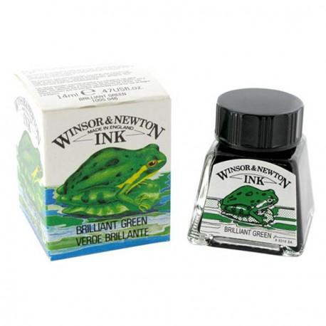 Tusz Winsor&Newton 14ml.brill green