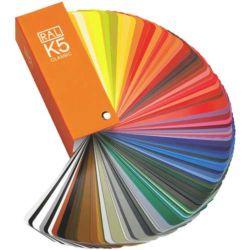 Wzornik RAL K-5 Classic półmat 213 kolorów