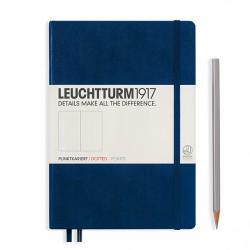 Notatnik LEUCHTTURM1917 A5 249st.kropka granatowy