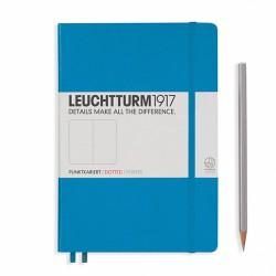 Notatnik LEUCHTTURM1917 A5 249st.kropka lazur