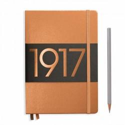 Notatnik LEUCHTTURM1917 A5 249st.miedziany gładki