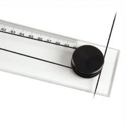 Przykładnica Plastikowa rolkowa Leniar 100cm