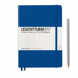 Notatnik LEUCHTTURM1917 A5 249st.niebieski kropka