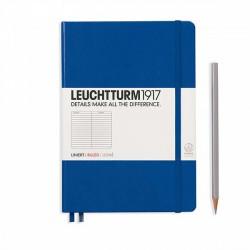 Notatnik LEUCHTTURM1917 A5 249st.niebieski linia