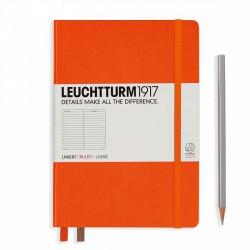 Notatnik LEUCHTTURM1917 A5 249st.pomarańcz linia