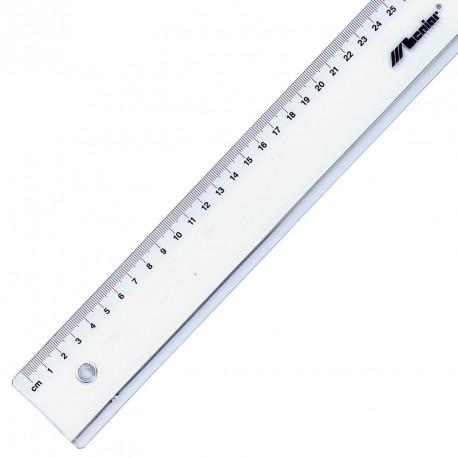 Linijka Leniar przezroczysta akrylowa 100cm