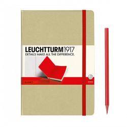Notatnik LEUCHTTURM1917 A5 249s.bicolor pias-czer