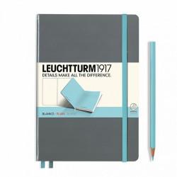 Notatnik LEUCHTTURM1917 A5 249s.bicolor szar-nieb