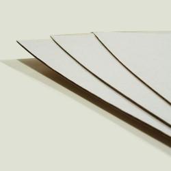 Tektura falista jednostronnie biała 1000x700mm