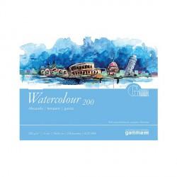 Blok GAMMA Watercolour 200g.18x24cm