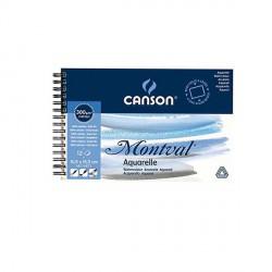 Blok Canson MONTVAL 300g 10,5x15,5cm FIN spirala