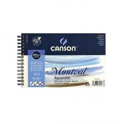 Blok Canson MONTVAL 300g 13,5x21cm FIN spirala