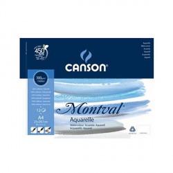 Blok Canson MONTVAL 300g 21x29,7cm(A4) FIN