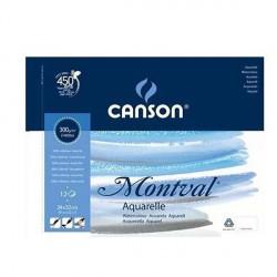 Blok Canson MONTVAL 300g 24x32cm FIN