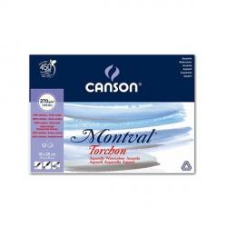 Blok Canson MONTVAL 270g 18x25cm TORCHON