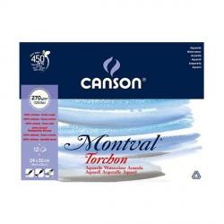 Blok Canson MONTVAL 270g 24x32cm TORCHON