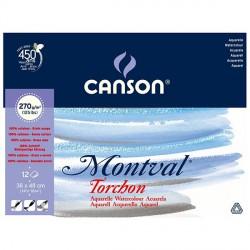 Blok Canson MONTVAL 270g 36x48cm TORCHON